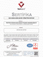 iso 14001 Sertifikamız