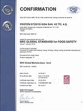 Alman Federal Sürdürülebilirlik Derneği - Global Gıda Güvenliği Sertifikamız