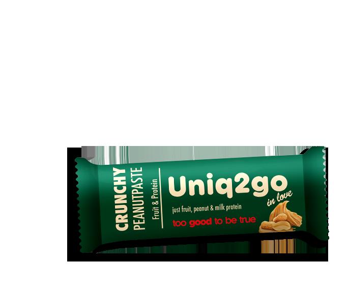 Uniq2go in love – Fıstık Ezmeli Proteinli Bar