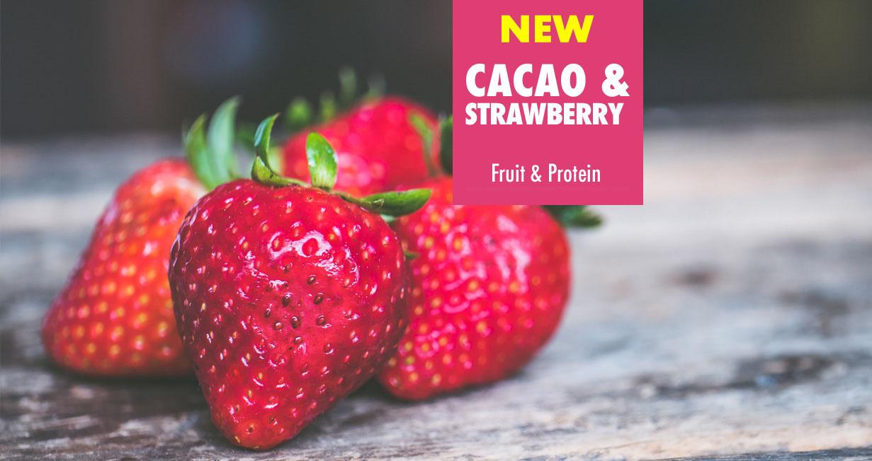 Uniq2go in love – Cacao & Strawberry Proteinbar