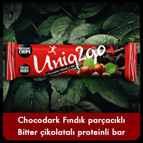 Uniq2go Chocodark bar